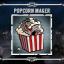 Popcorn Maker in Guns, Gore & Cannoli